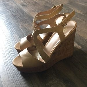 Nude Madden NYC wedges